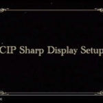 CIP Sharp Copier Display Setup