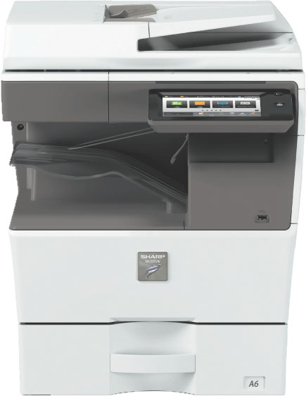 sharp mxb355w desktop copier