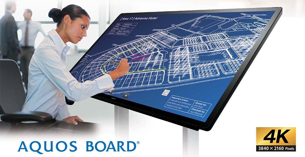 Sharp Aquos Board - PNL805H