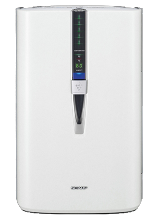 sharp air purifier kc860u