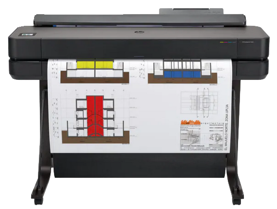 HP DesignJet T650 Large Format Wireless Plotter Printer