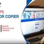 how to remote print with papercut
