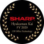 Sharp Hyakuman Kai Dealer Awarded