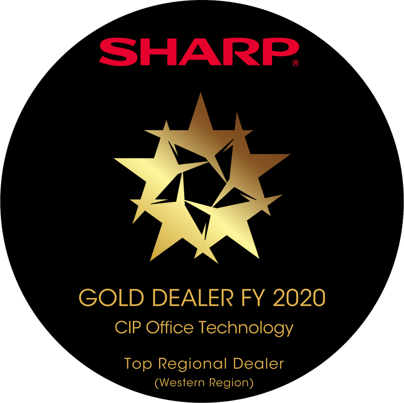 sharp top dealer award